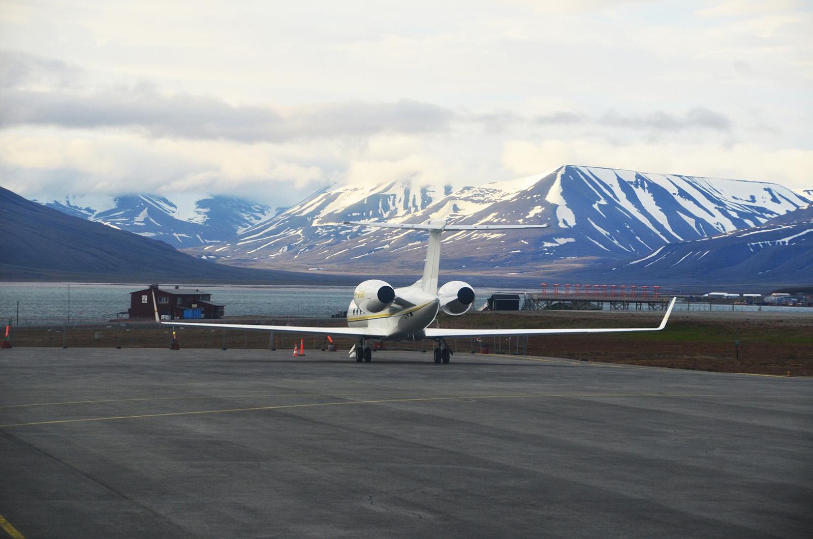 Spitsbergen, lot, transport, lotnisko, połączenie, jak dolecieć