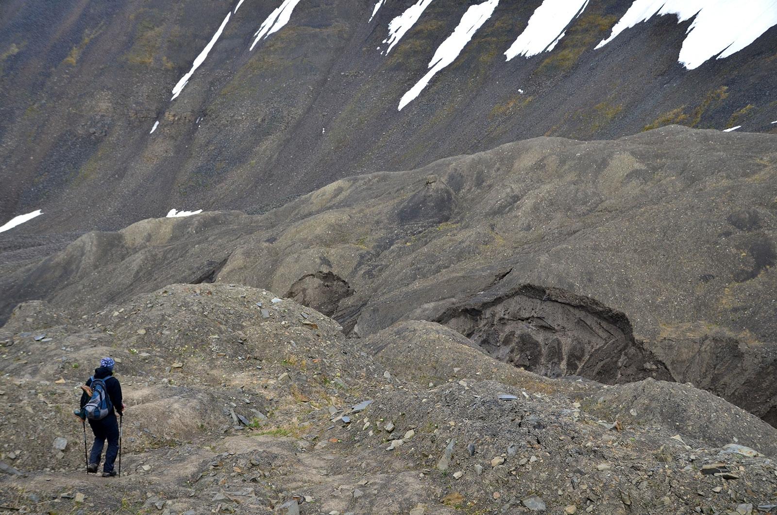 Trekking na Spitsbergenie