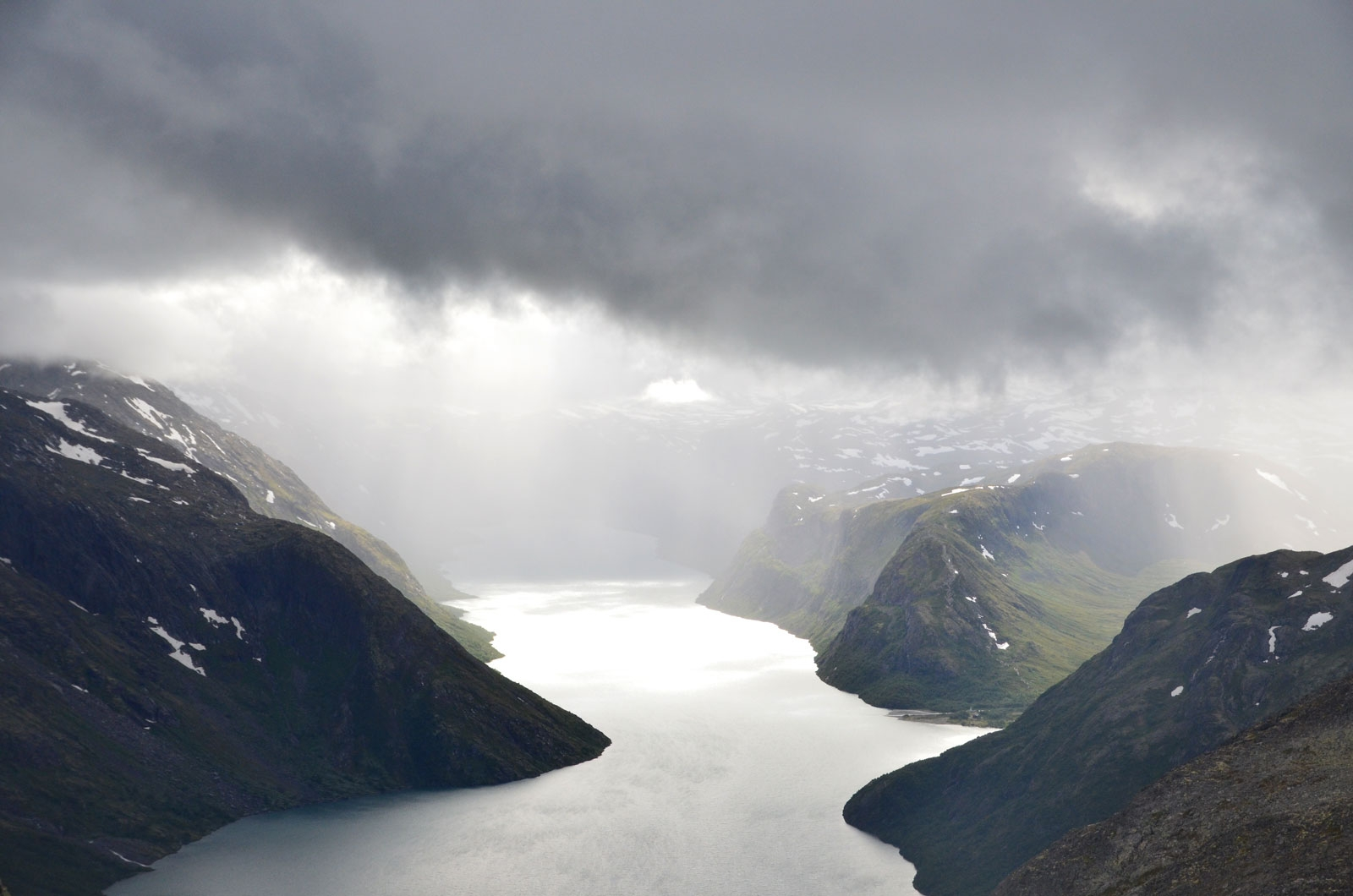 Jezioro Besvatnet - Norwegia