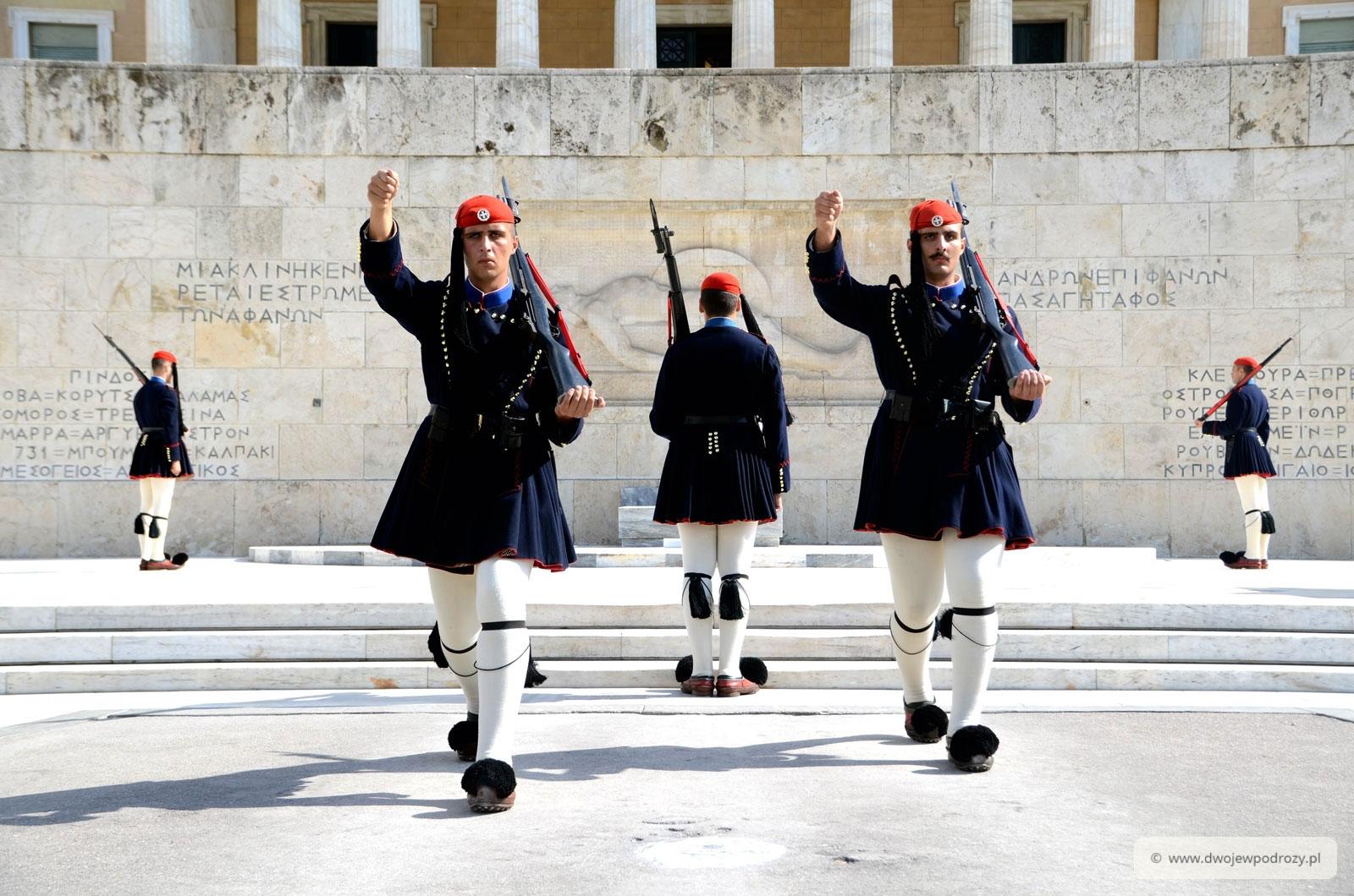 Zmiana Warty - Parlament w Atenach